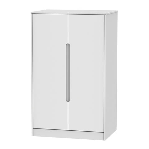 Chelsea Gloss - 2ft6 Plain Midi Wardrobe
