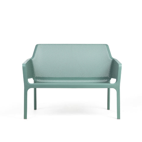 Net Bench in Turquoise