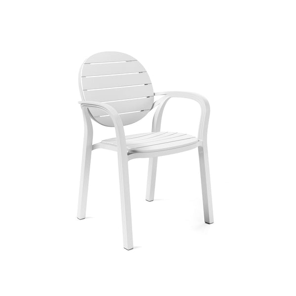 Palma Garden Chair In White.