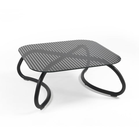 Loto Relax 95 Garden Table In Anthracite