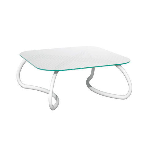 Loto Relax 95 Garden Table In White