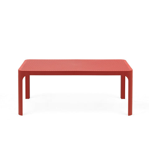 Net 100cm Garden Table In Coral