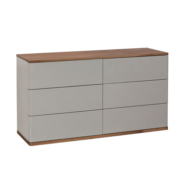 Crofton Park Chest of Drawers - 6 Drawer Wide