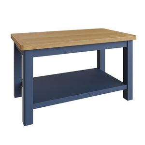 Pershore Blue Painted Coffee Table - Small