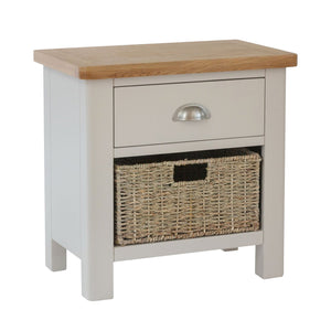 Small Side Table 1 Drawer & Basket
