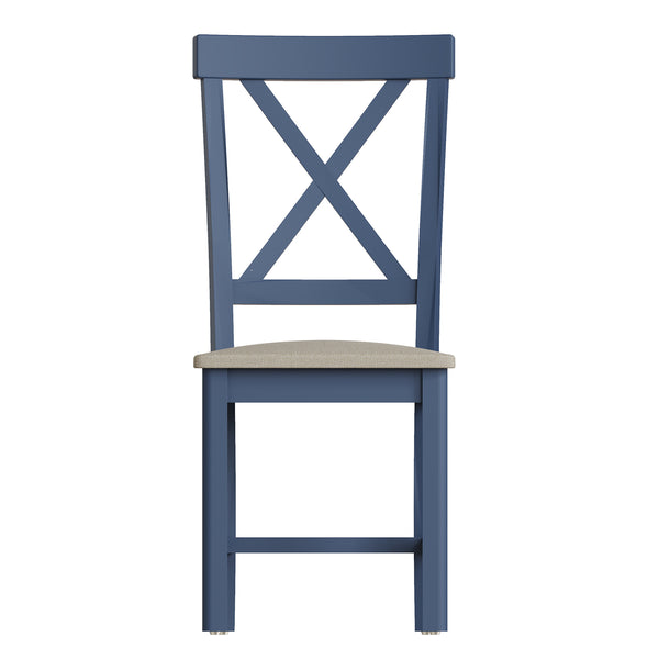Pershore Blue Painted Dining Chair