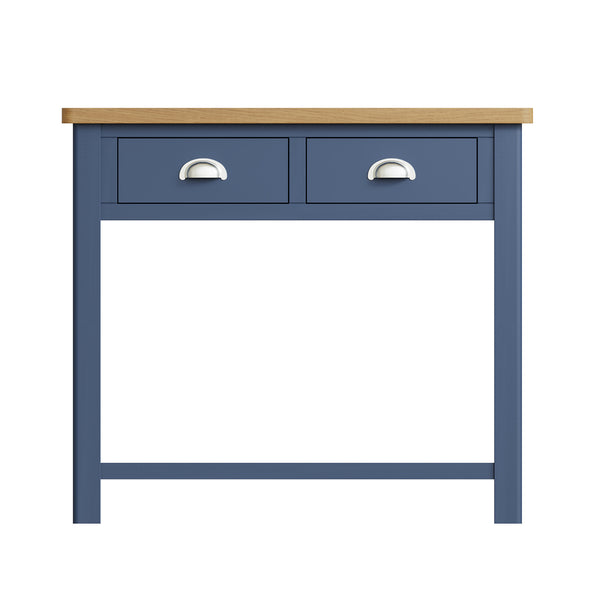 Pershore Blue Painted Console Table