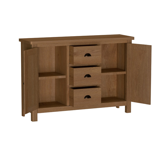 Pershore Oak Sideboard - Large