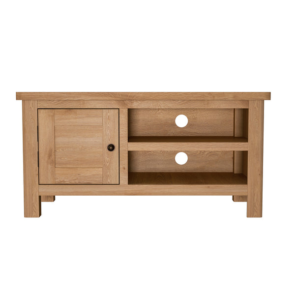 Pershore Oak TV Unit - Standard