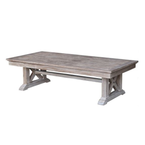 Burnham Reclaimed Occasional - Cross Leg Coffee Table