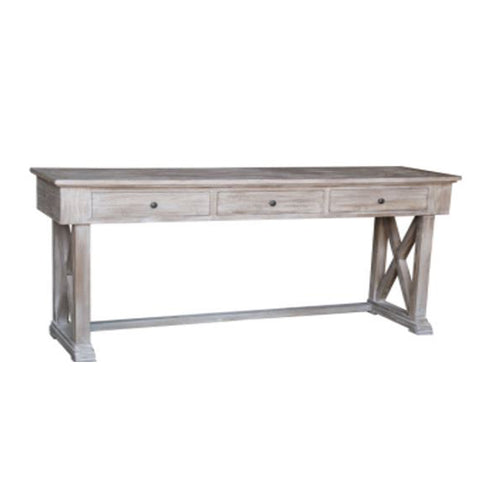 Burnham Reclaimed Occasional - Cross Leg Console Table