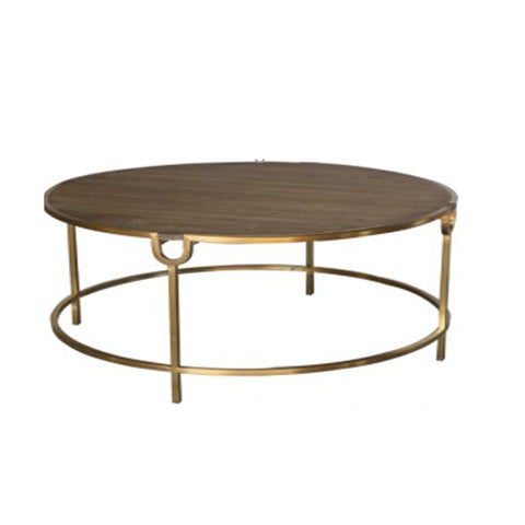 Burnham Reclaimed Occasional - Round Coffee Table