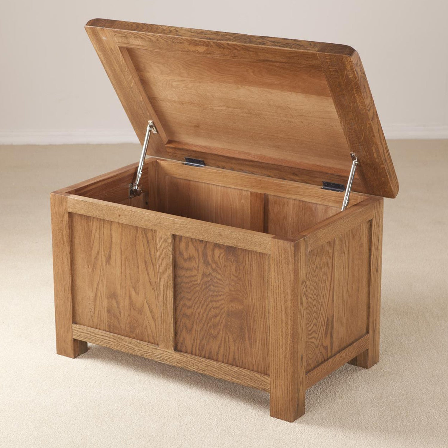 Auvergne Solid Oak Blanket Box Small Better Furniture # Meuble Tv Colonial