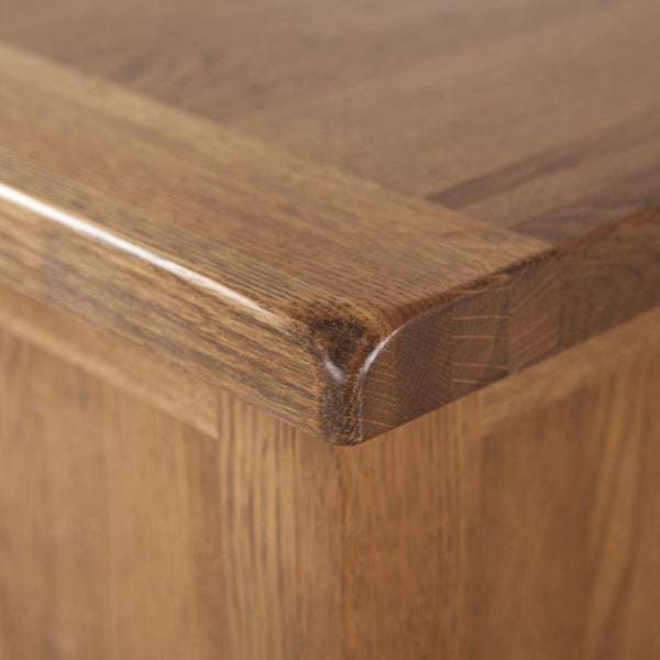Auvergne Solid Oak Blanket Box - Small