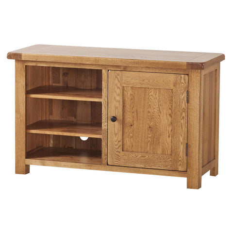 Auvergne Solid Oak TV Unit - Standard