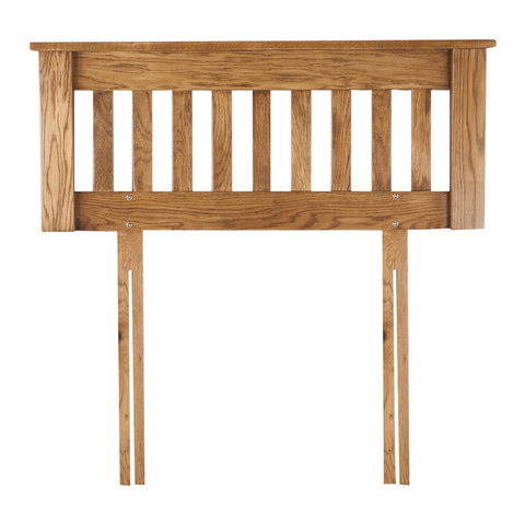 Auvergne Solid Oak Headboard