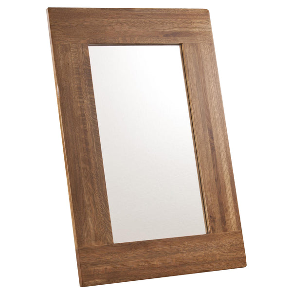 Auvergne Solid Oak Mirror - 90 x 60cm - Dx
