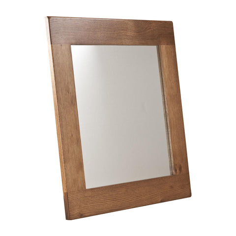 Auvergne Solid Oak Mirror - 90 x 90cm - Better Furniture Norwich & Great Yarmouth