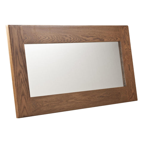 Auvergne Solid Oak Mirror - 130 x 60cm - Better Furniture Norwich & Great Yarmouth