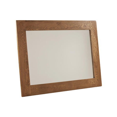 Auvergne Solid Oak Mirror - 130 x 90cm - Better Furniture Norwich & Great Yarmouth