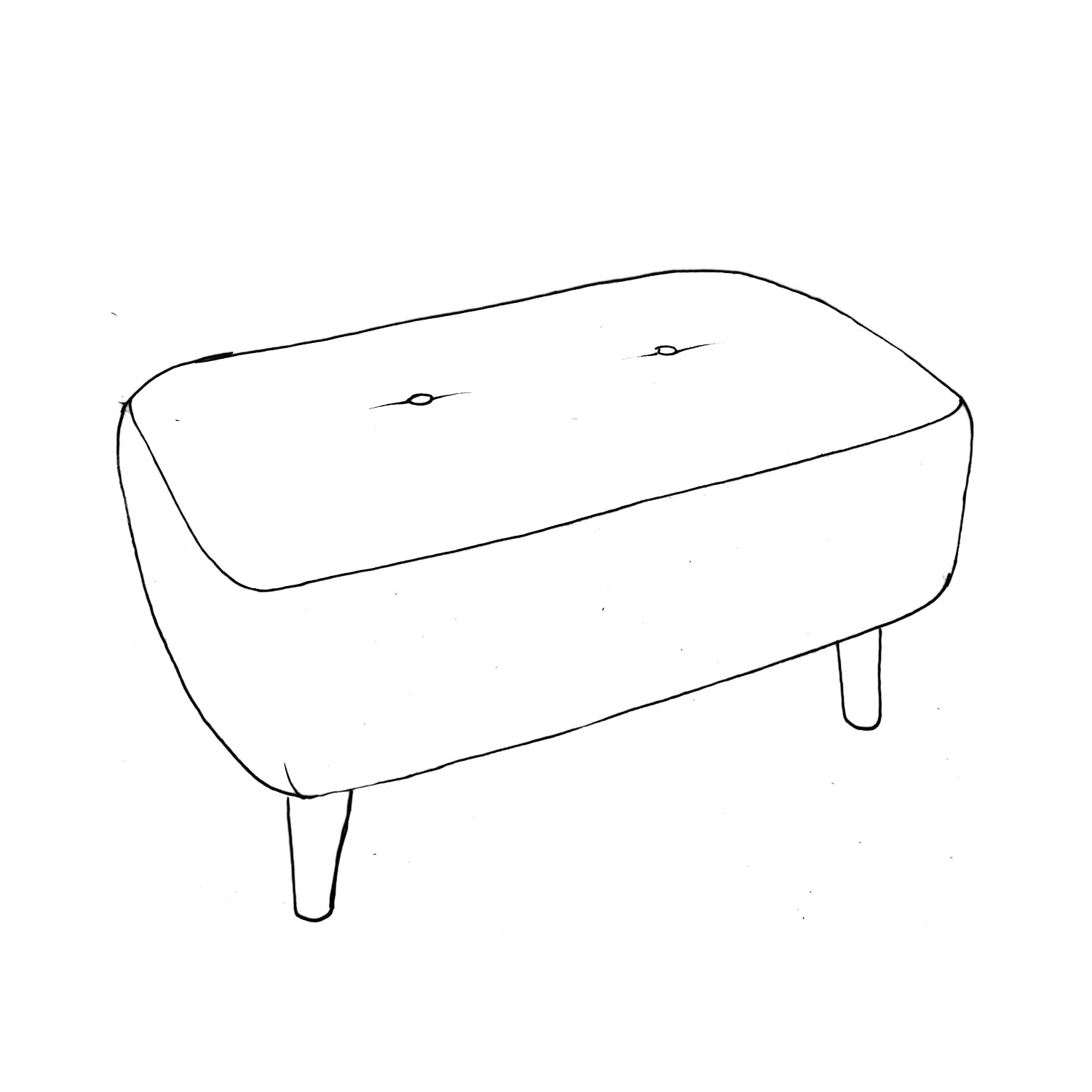 Billie Small Bench Stool