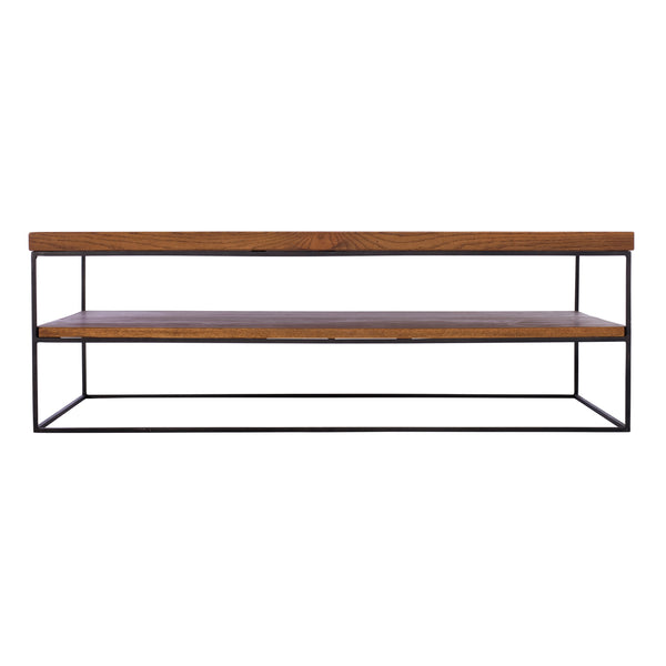 Sigdon Open Coffee Table with Shelf
