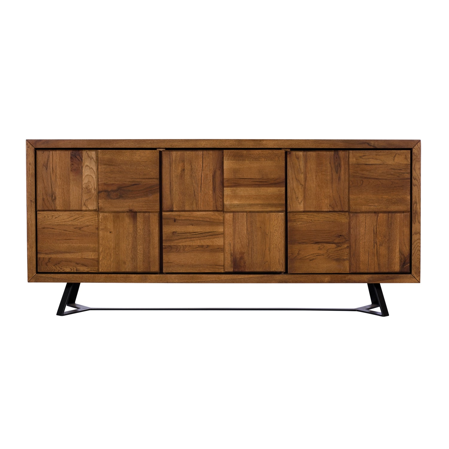 Sigdon Wide Sideboard - Panelled