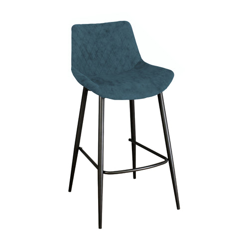 Axel Bar Stool - Mineral Blue