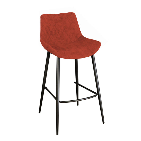 Herne Hill Bar Stool - Burnt Orange