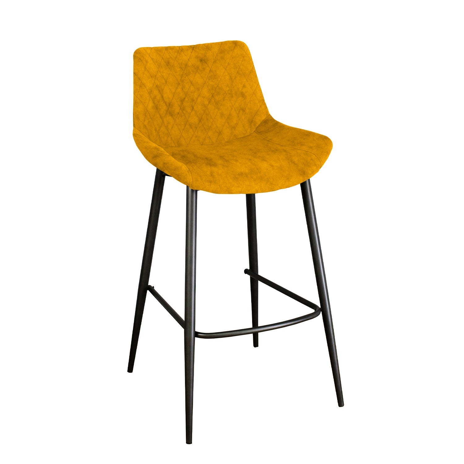 Axel Bar Stool - Saffron