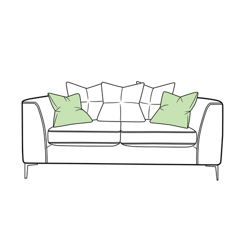 Finley Sofa - Small Scatter Back