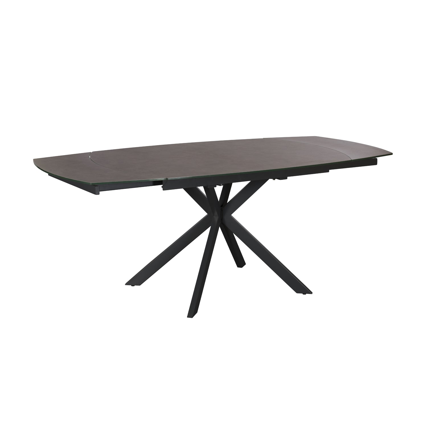 Oslo Dining Table - 140cm Extending Light Grey
