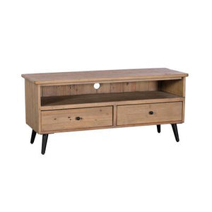 Sands End TV Unit With 2 Drawers