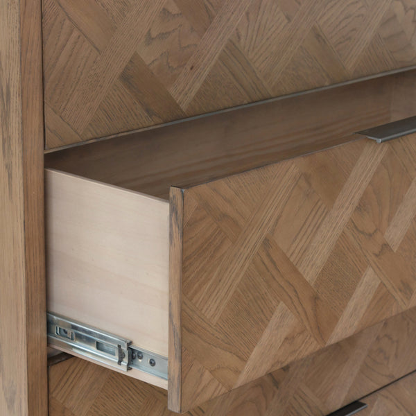 Parquet Front of Drawer & Runners