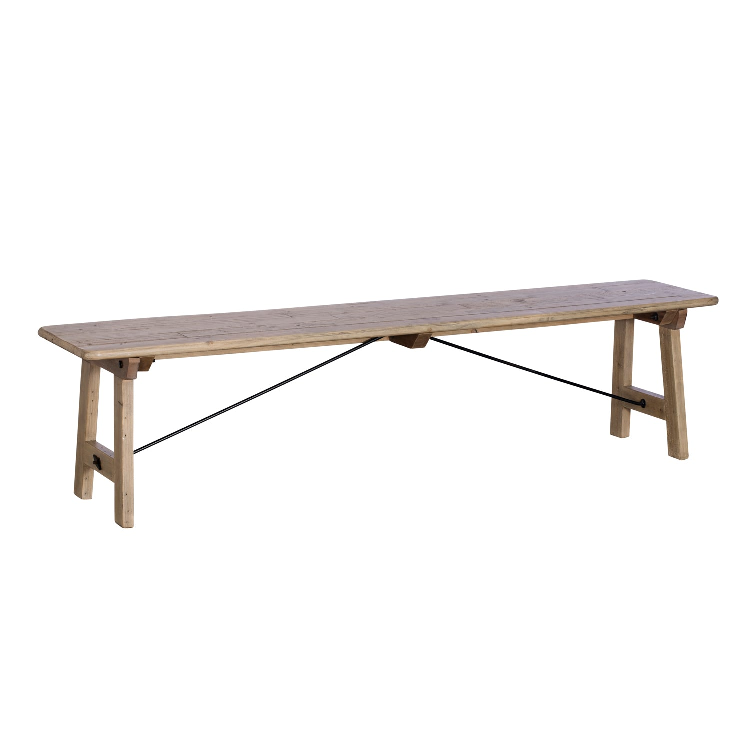 Sands End Reclaimed Timber Dining Bench