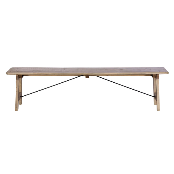 Sands End Reclaimed Timber 200cm Bench