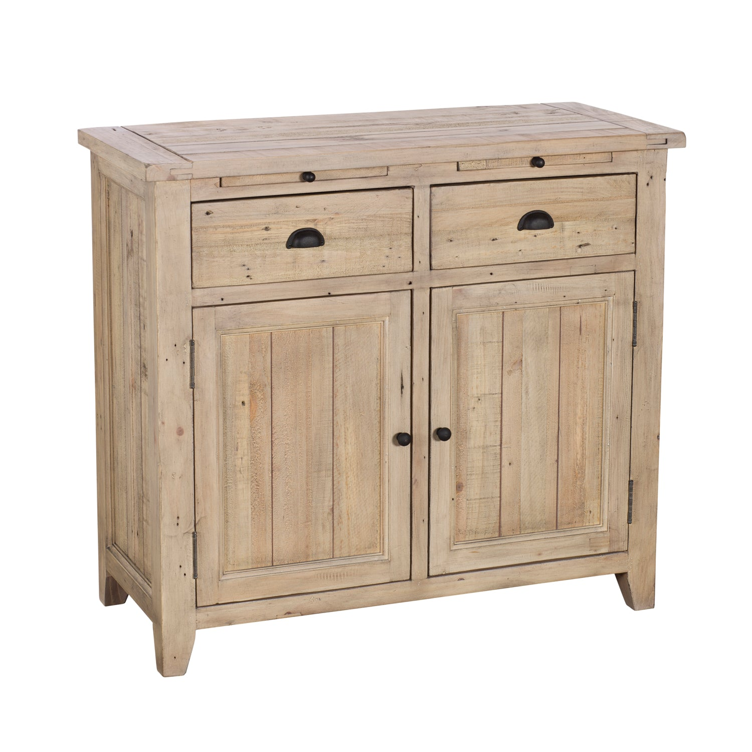 Sands End Reclaimed Timber 2 Door Sideboard