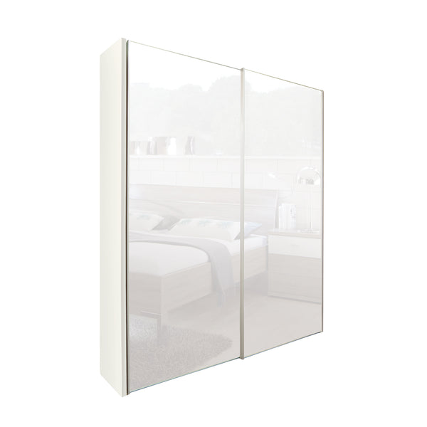 Chicago 200cm Wardrobe with Sliding Mirrored Doors