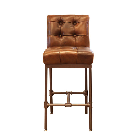 Wicklow Buttoned Back Bar Stool