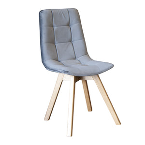 Willis Dining Chair - Dolphin Grey