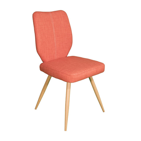 Herne Hill Geo Dining Chair - Orange