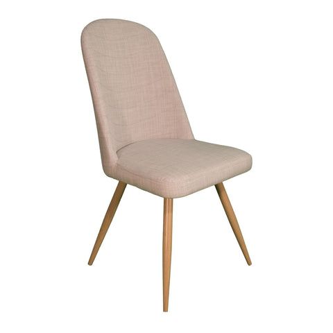Herne Hill Scoop Dining Chair - Ivory