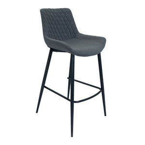 Axel Bar Stool - Shadow Grey