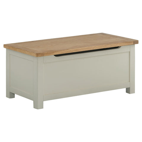 Todenham Oak & Painted Blanket Box - Better Furniture Norwich & Great Yarmouth