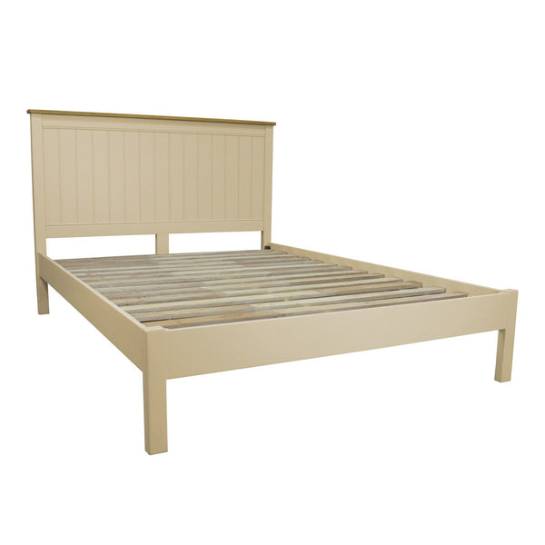 Hardingham Painted & Oak Bed Frame