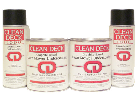 CD 2 Quarts (water-based) & 2 Aerosol cans (oil-based) Combo
