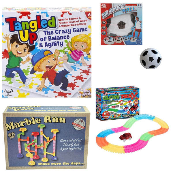 home games racing track hover ball marble run twister