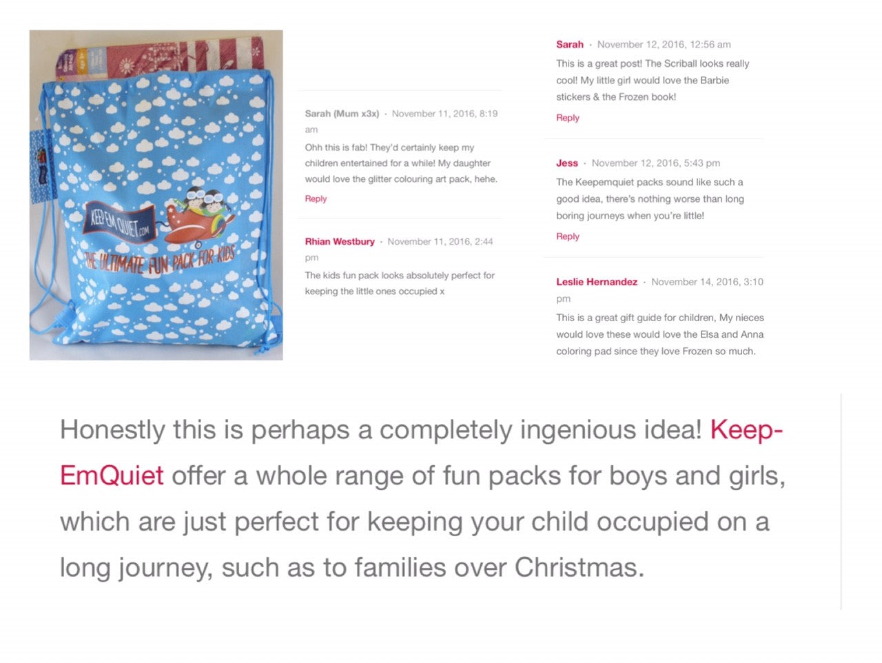 lifebreakdown ukblogger pblogger recommends keepemquiet
