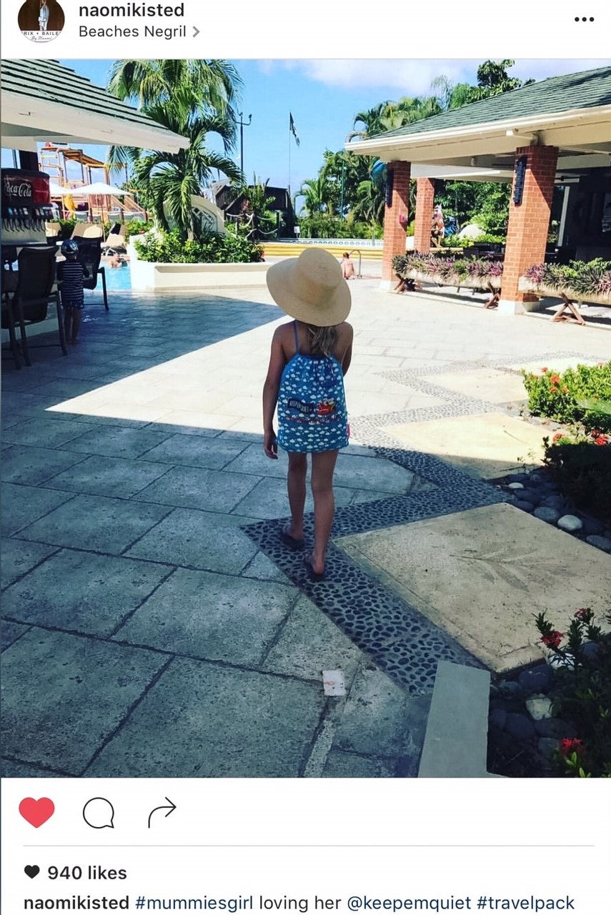 Naomi Iksted traveling blogs kids on holiday Beaches Resort