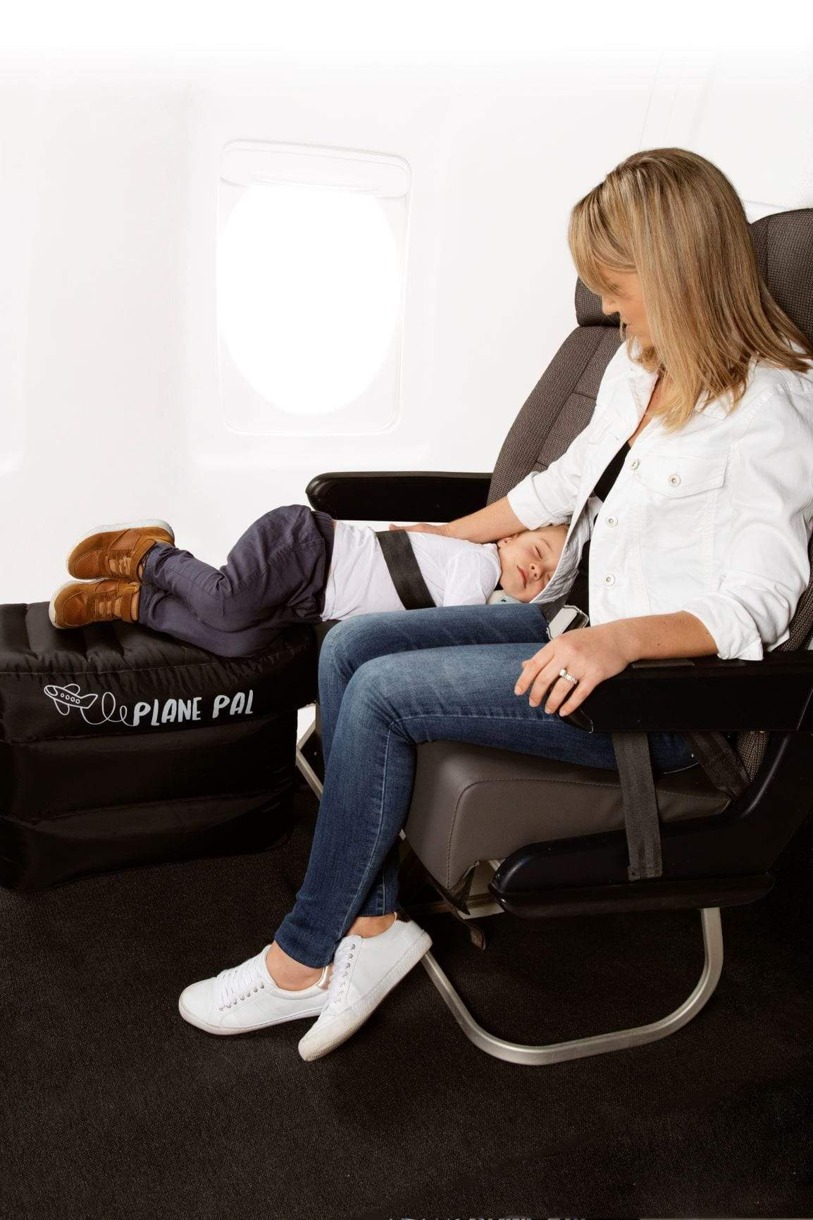 Cool Plane Pal The Airplane Seat Extender Full Kit With Pump Machost Co Dining Chair Design Ideas Machostcouk